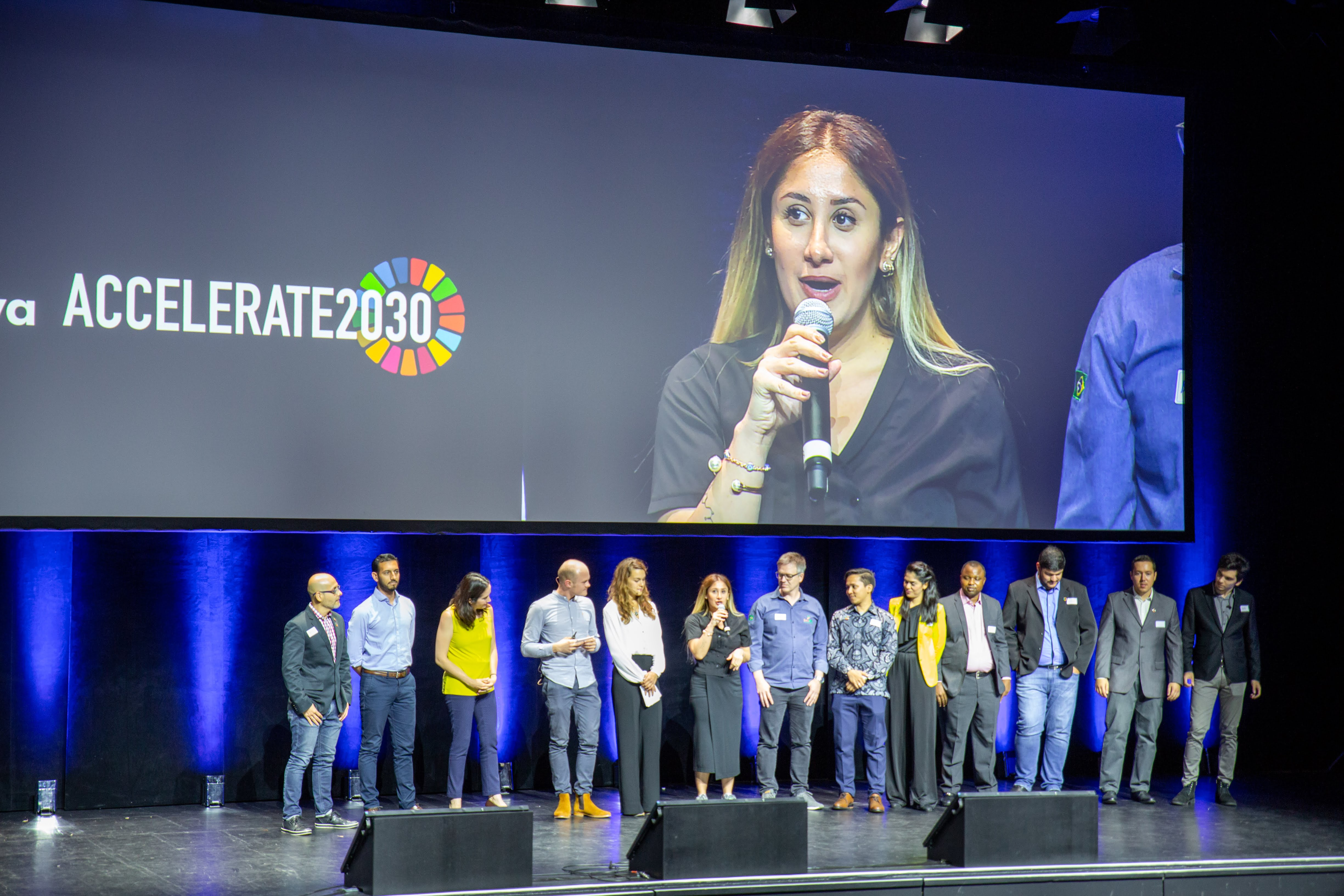 Accelerate2030 entrepreneurs in Factory17